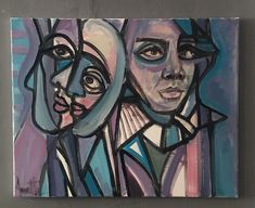 Working on this abstract today inspired by Picasso! Picasso Style, Pablo Picasso, Faces, Museum, Inspired, Portrait, Abstract, Artwork, Fictional Characters