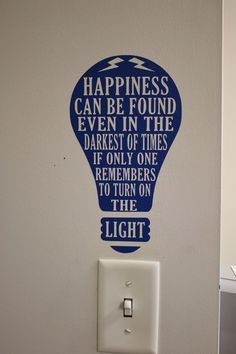 Using Silhouette in the classroom. Harry Potter quote at the light switch. JK Rowling would be proud.                                                                                                                                                      More