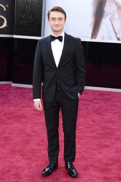2013 Oscars Red Carpet gotta love me some daniel radcliff
