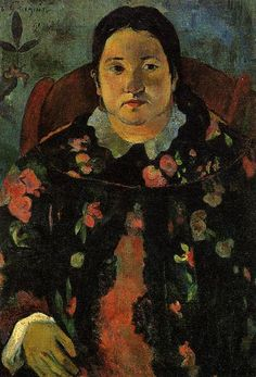 Paul Gauguin, Portrait of Suzanne Bambridge on ArtStack #paul-gauguin #art