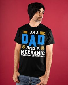 Perfect Gift For Father - For Dad Great Gifts For Dad, Perfect Gift For Dad, Gifts For Father, Dad To Be Shirts, Classic T Shirts, Dads, Black, Black People, Fathers