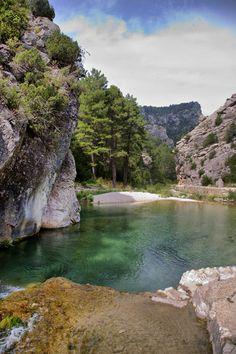 El Parrizal de Beceite. Teruel.