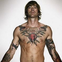 Cool chest tattoo designs ideas for men , stylish men chest tattoo ideas . Latest ideas for men chest tattoos . These chest tattoo designs are really awesome . Star Tattoos For Men, Chest Tattoos For Women, Cool Tattoos For Guys, Trendy Tattoos, Male Chest Tattoos, Bad Tattoos, Sexy Tattoos, Tribal Tattoos, Rose Tattoos