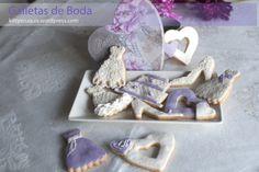 #Galletas de #boda - #Wedding #cookies #wedding cookies #galletas de boda