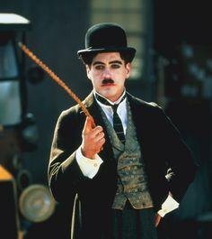 Robert Downey Jr. as Chaplin in Chaplin (1992)
