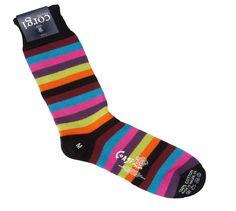 Corgi Socks Black and Orange Stripes - Pediwear Accessories