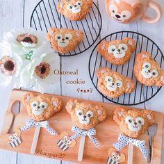 Duffy oatmeal cookies by kaori.kubotaHokkaido (@kaopan27)