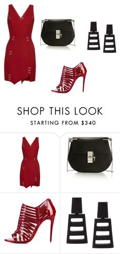 """""""Untitled #11"""" by dadulla on Polyvore featuring Thierry Mugler, Chloé and Monies"""