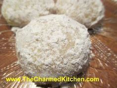 Lemons in the Snow Cookies | The Charmed Kitchen