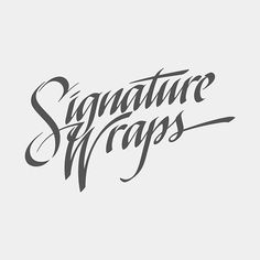 Calligraphy & Lettering Collection 2014 on Behance