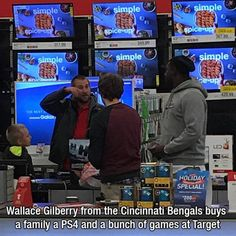 faith in humanity restored Faith In Humanity Restored, Young Family, Cincinnati Bengals, Going Crazy, Spice Things Up, Dads, World, Instagram Posts, Ps4
