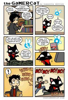 the GaMERCaT :: Close Call | Tapastic Comics