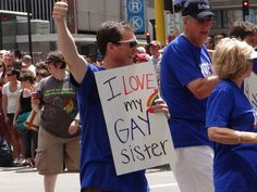 32 Gay Pride Pictures Everyone Should See  Put a lump in my throat, and tears in my eyes, absolutely beautiful