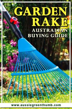In the market for a good garden rake? Here's a quick guide to the different types of rakes on market, how to use them and everything you'll need to know when choosing the right kind of rake for your gardening needs.#australianbuyingguide #gardeningtips Sustainable Gardening, Vegetable Gardening, Container Gardening, Gardening Tips, Garden Rake, Lawn And Garden, Garden Tools, Spear And Jackson, Bushes And Shrubs
