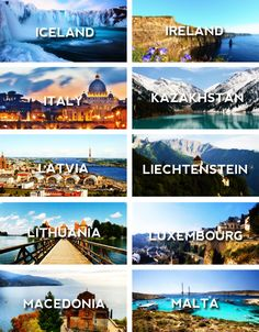 18 Best Places To Go In Europe