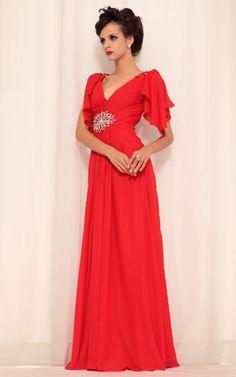 ウエストのアクセサリーが特徴的!二の腕スッキリロングドレス♪ - ロングドレス・パーティードレスはGN|演奏会や結婚式に大活躍!
