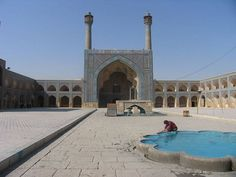 Jameh Mosque ( Isfahan ) http://iranparadise.com/en/gallerygroup/gallery/25