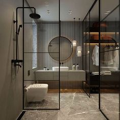 Get this - Modern Bathrooms Houzz #marvelous