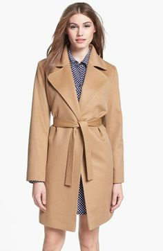 Fleurette Cashmere Wrap Coat (Petite) available at #Nordstrom