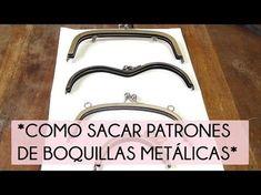 Cómo sacar patrones de boquillas metálicas   Manualidades