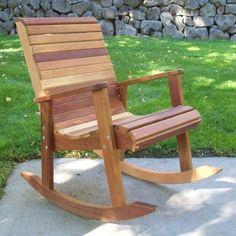 WoodCountry Tu0026L Rocking Chair Finish: