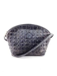 #fendi #grey #crocodile #leather #crossbody #purse #bagoftheday #bagporn #fashion