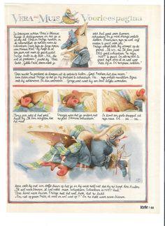 24x marjolein bastin VERA THE MOUSE prints from Libelle magazine set C