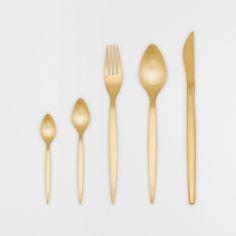 Golden Flatware