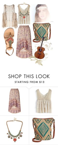 """happy times travel and chill"" by shiri-shakarov ❤ liked on Polyvore featuring Monsoon, Chicwish, Cocobelle, Lucky Brand and LAmade"