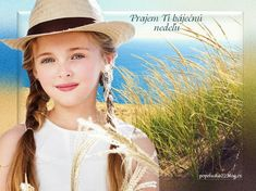 Girl With Hat, Panama Hat, Cute Girls, Hats, Image, Children, Fashion, Beautiful Children, Boys