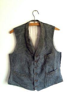 Salt & Pepper Vest, 1930s