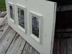 Multi Opening Frame Cottage Style Distressed by KPATTONDESIGNS