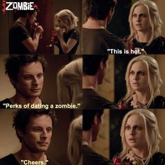 "#iZombie 1x05 ""Flight of the Living Dead"" - Liv and Lowell"