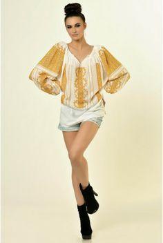 Romanian Blouse #ethnic #fashion #embroidery #romanian