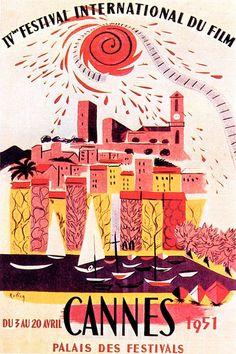 6th International Film Festival in Cannes in 1951