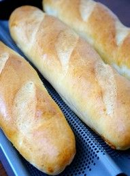 "French bread- I will never buy store bought French bread again, this was  so simple and easy to make and it was amazing. The recipe was for a bread machine but I didnt use it and it turned out awesome!"" data-componentType=""MODAL_PIN"