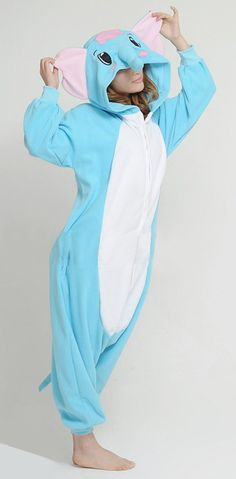Elephant Animal Adult Onesie Kigurumi Pajamas