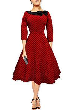 Fashion Bug Iris 50s Polka Dot Collared Dress www.fashionbug.us #plussize #fashionbug #vintage #pinup #rockabilly 1X 2X 3X 4X 5X