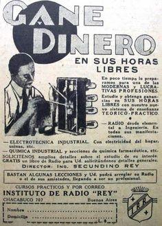 Instituto de Radio Rey 1935