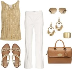"""""""gold"""" by katie410 on Polyvore"""