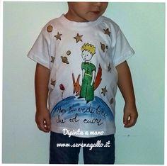 Maglietta bambino dipinta a mano Serena Gallo Cosedipinte@gmail.com