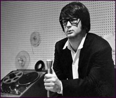 """Brian Wilson of the Beach Boys produces his masterwork, Pet Sounds (1966), Gold Star Studios, Los Angeles. Most of the tracks were recorded in early 1966 at Western Studio 3, also in Los Angeles. At Gold Star the Beach Boys recorded """"Wouldn't It Be Nice,"""" """"I Just Wasn't Made for These Times,"""" and """"Good Vibrations,"""" which was the follow-up single to the album."""