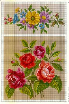 Cross Stitch Heart, Cross Stitch Borders, Cross Stitch Flowers, Cross Stitching, Cross Stitch Embroidery, Cross Stitch Patterns, Crochet Table Runner Pattern, Vintage Cross Stitches, Needlepoint Patterns