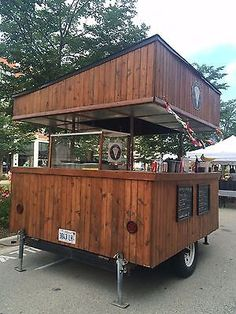 Food Trailer - Custom built