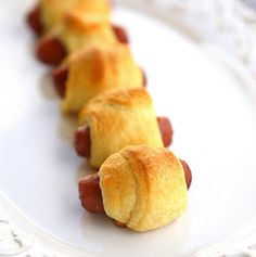 Pigs in a blanket yes!