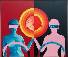 Juxtapoz Magazine - The Work of Evelyne Axell