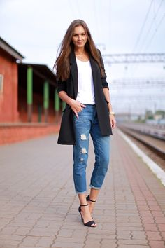 Look of the Day: Boyfriend Jeans
