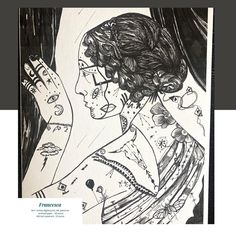 "Flavia Testa on Instagram: ""Francesca  8x11 (sixty euros) 4x6 (25 euros) Digital print, ink, pencil on archival paper  FREE SHIPPING WORLD WIDE  #art #artist #drawing…"" New Art, Digital Prints, Pencil, Ink, Free Shipping, World, Drawings, Paper, Artist"
