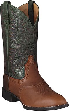 Ariat Heritage Stockman Western Boot Style 11 Inch Men Shoes 10002258
