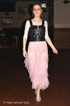 Lily Lulu Anais pink tulle skirt review High Latitude Style #fashionblogger #styleblogger